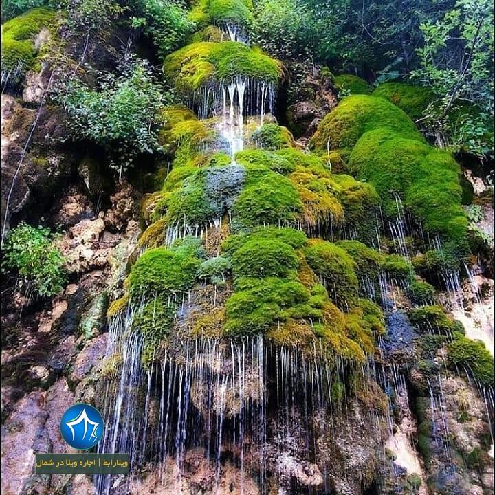 آبشار آبپری رویان ابشار ابپری کجاست جاذبه گردشگری رویان (۳)
