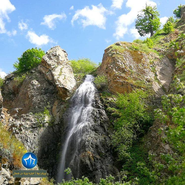 آبشار اکاپل ابشار کلاردشت ابشار جاذبه طبیعی کلاردشت ابشار اکاپل کلاردشت (۷)