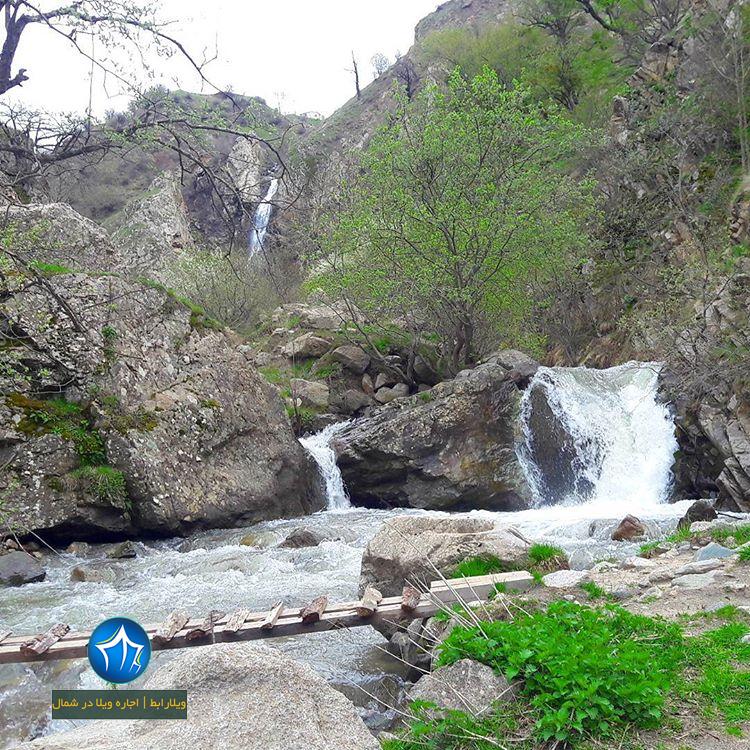 آبشار اکاپل ابشار کلاردشت ابشار جاذبه طبیعی کلاردشت ابشار اکاپل کلاردشت (۸)