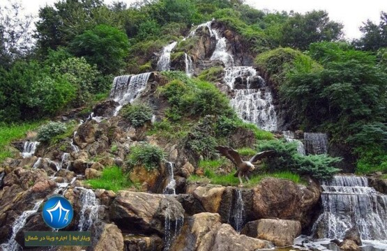 آبشار شاه نشین-آبشار شیطان کوه کجاست آبشار شیطانکوه شیطان کوه لاهیجان آبشار شیطان کوه (۱)