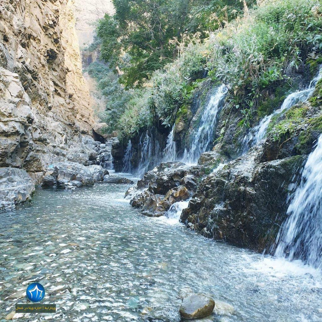 آبشار هفت تپه کجاست آبشار البرز ابشار هفت تپه کندوان ابشار مازندران (۱)