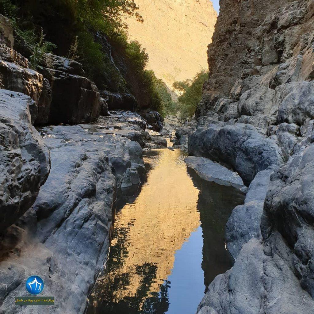 آبشار هفت تپه کجاست آبشار البرز ابشار هفت تپه کندوان ابشار مازندران (۲)
