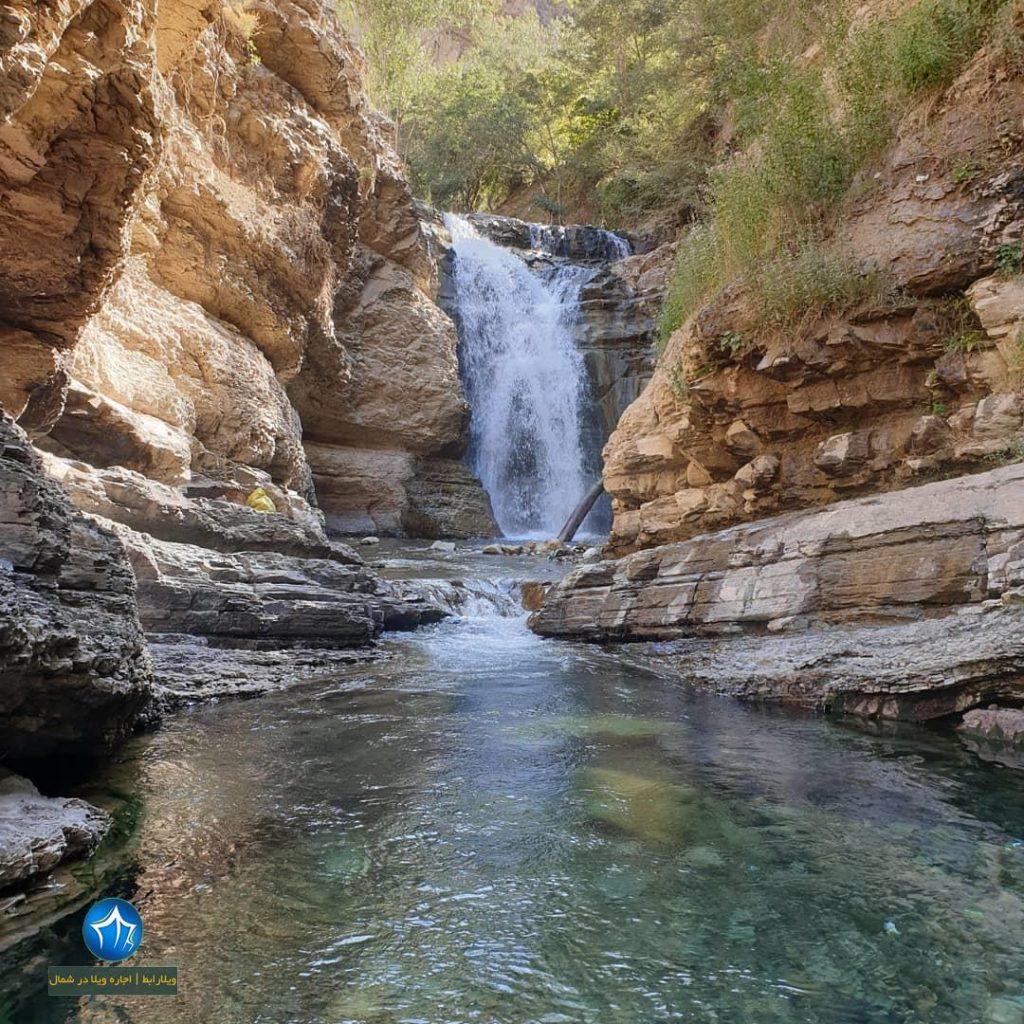 آبشار هفت تپه کجاست آبشار البرز ابشار هفت تپه کندوان ابشار مازندران (۳)