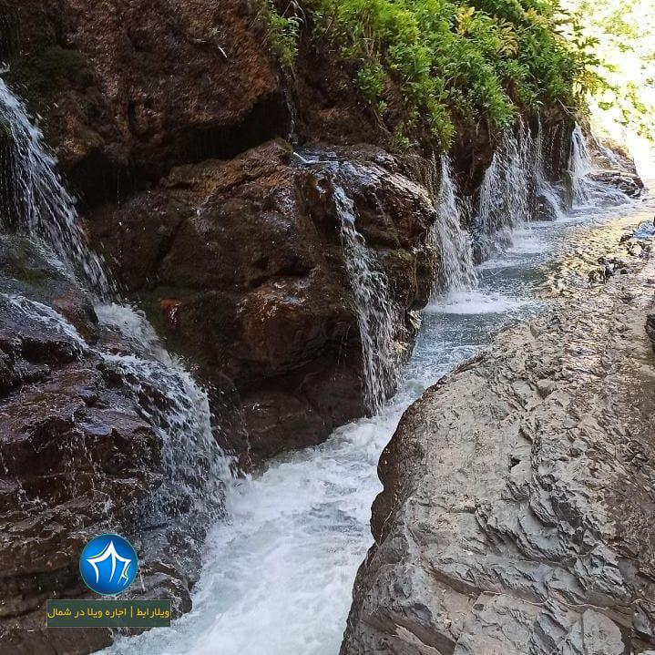 آبشار هفت تپه کجاست آبشار البرز ابشار هفت تپه کندوان ابشار مازندران (۴)