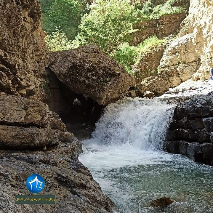 آبشار هفت تپه کجاست آبشار البرز ابشار هفت تپه کندوان ابشار مازندران (۵)