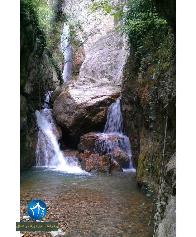 آبشار ونوش ابشار مازندران آبشار ونوش نور روستای ونوش (۲)
