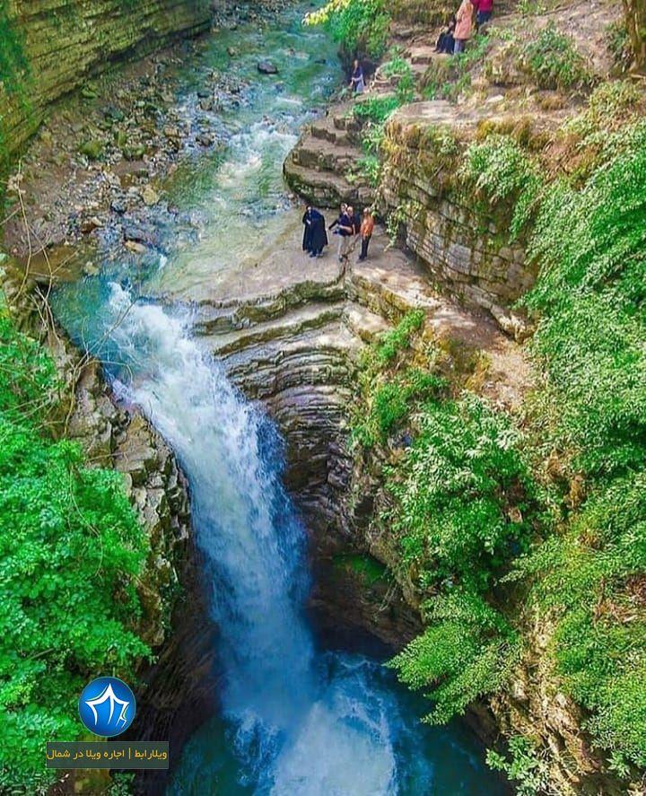 آبشار ویسادار کجاست-آبشار ویسادار آبشار ویسادار رضوانشهر ابشار ویسادار تصاویر ابشار (۲)