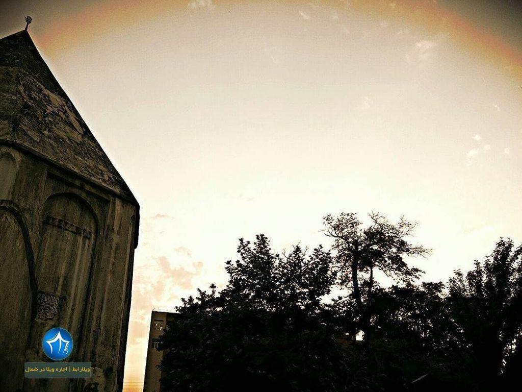 امامزاده جمشید کیا سلطان رویان امامزاده رویان امامزاده جمشید کجاست رویان (۳)