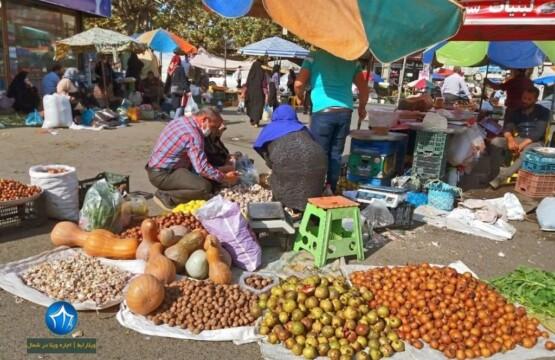 بازار هفتگی املش سه شنبه بازار املش بازار املش (۳)