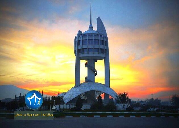 برج گرگان کجاست-برج گرگان در شب-برج گرگان گلستان-برج گرگان در-درباره برج گرگان-برج المان گرگان