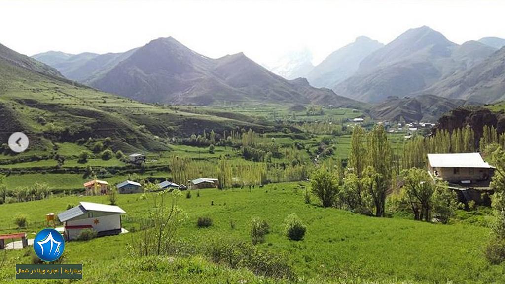 بلده نور روستای بلده بلده مازندران
