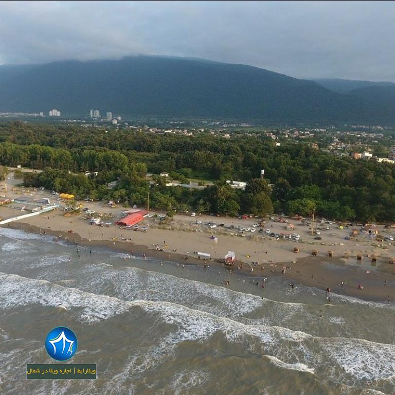 تفرجگاه ساحلی نمک آبرود طرح سالمسازی دریا (۲)