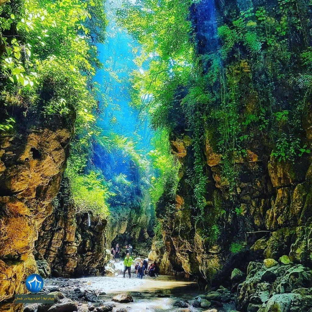 تنگه دار کجاست تور تنگه دار نوشهر عکس تنگه دار تور یکروزه تنگه دار نوشهر صخره کوه (۱)