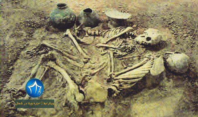 تپه باستانی مارلیک رودبار تپه مارلیک تپه مارلیک کجاست موزه گنج مارلیک موزه رشت (۱)