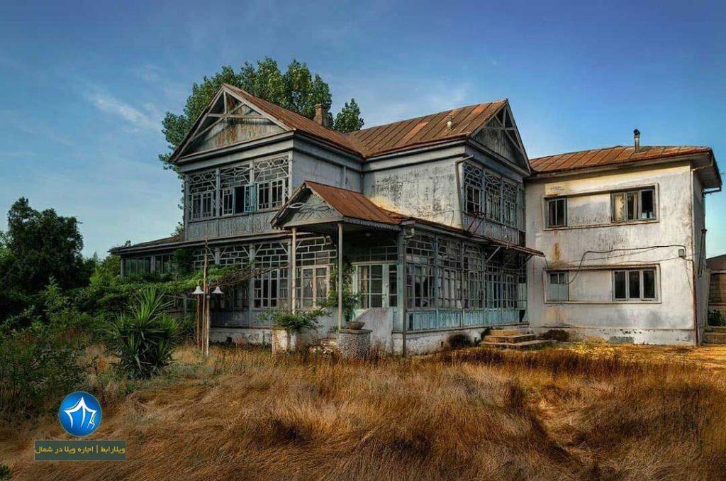 حسن کیاده کجاست  ( کیاشهر کجاست ) خانه ی روس ویلارابط جاذبه گردشگری کیاشهر (۲)