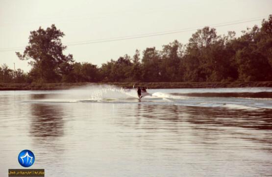قایق سواری دریاچه آویدر