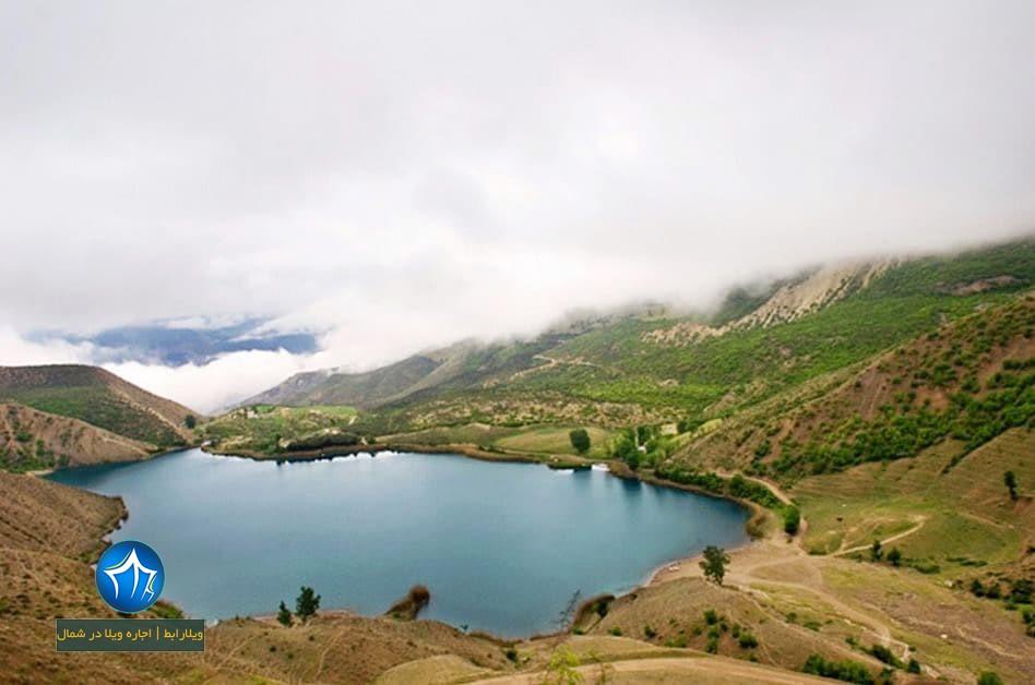 دریاچه خضرنبی دریاچه نوشهر دریاچه خضر نبی کجاست