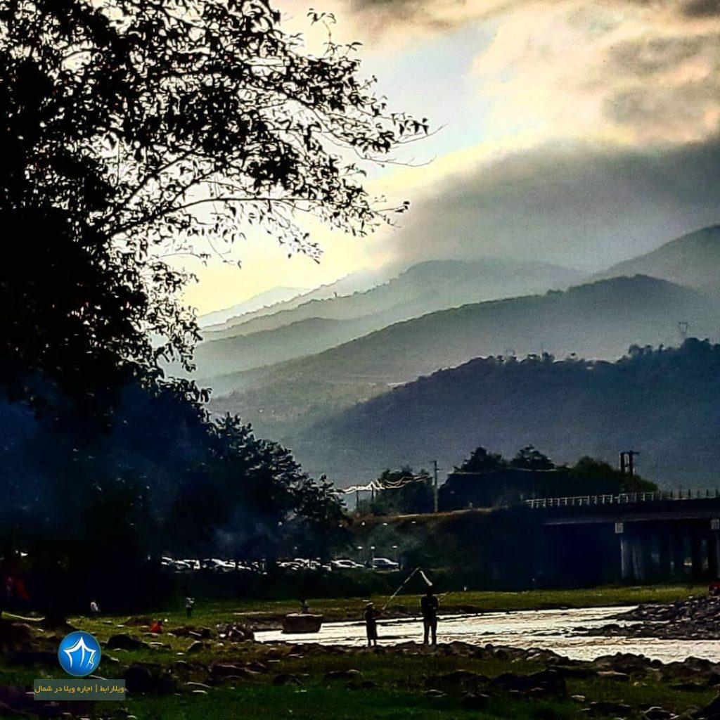 دریاچه سد تاریک رودبار سدتاریک بیجار رودبار رشت ویلارابط گیلان جاذبه گردشگری ماهیگیری گیلان (۱)