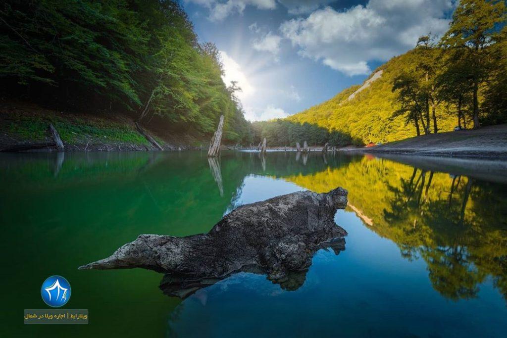 دریاچه سورت ساری سورت کجاست دریاچه سورت مازندران جاذبه دیدنی سورت تور گردشگری سورت ساری (۱)