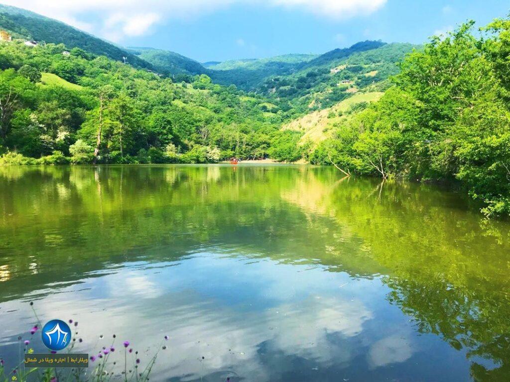 دریاچه شورمست کجاست؟ شورمست سوادکوه جاذبه گردشگری مازندران ( اقامت در سواد کوه ) (۳)