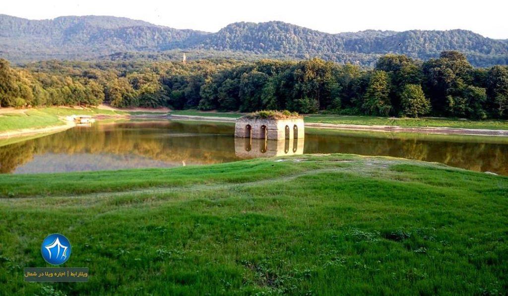 دریاچه عباس اباد بهشهر عباس اباد کجاست (۵)