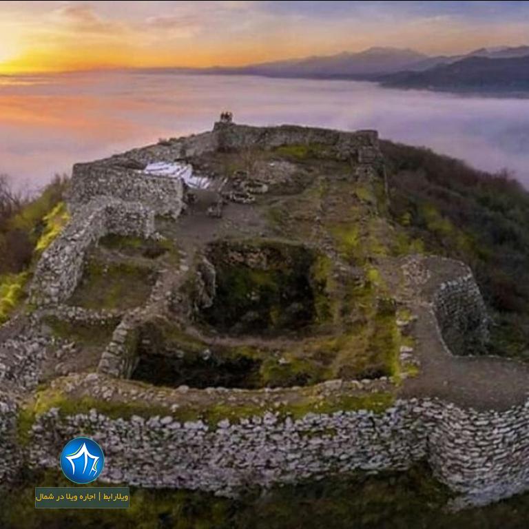 دژ رامسر قلعه دژ مارکوه اجاره ویلا در شمال (۱)