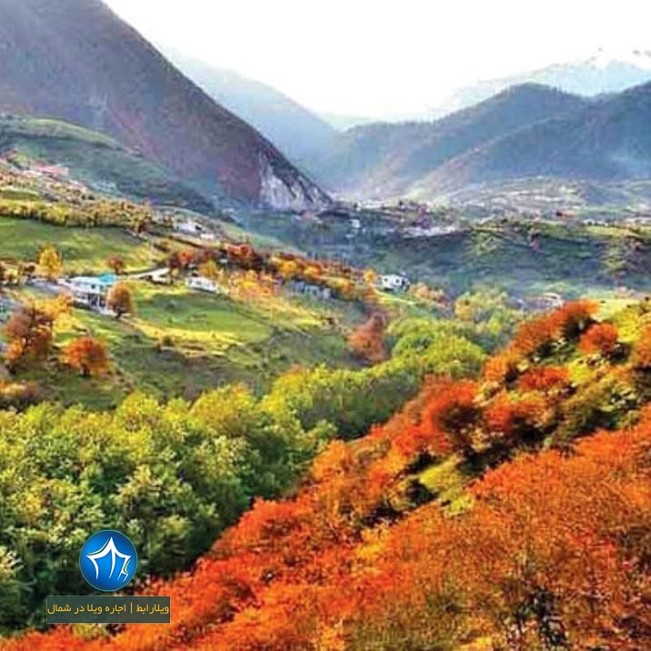 روستای لاویج کجاست جاذبه های لاویج نور جاذبه مازندران ابگرم لاویح