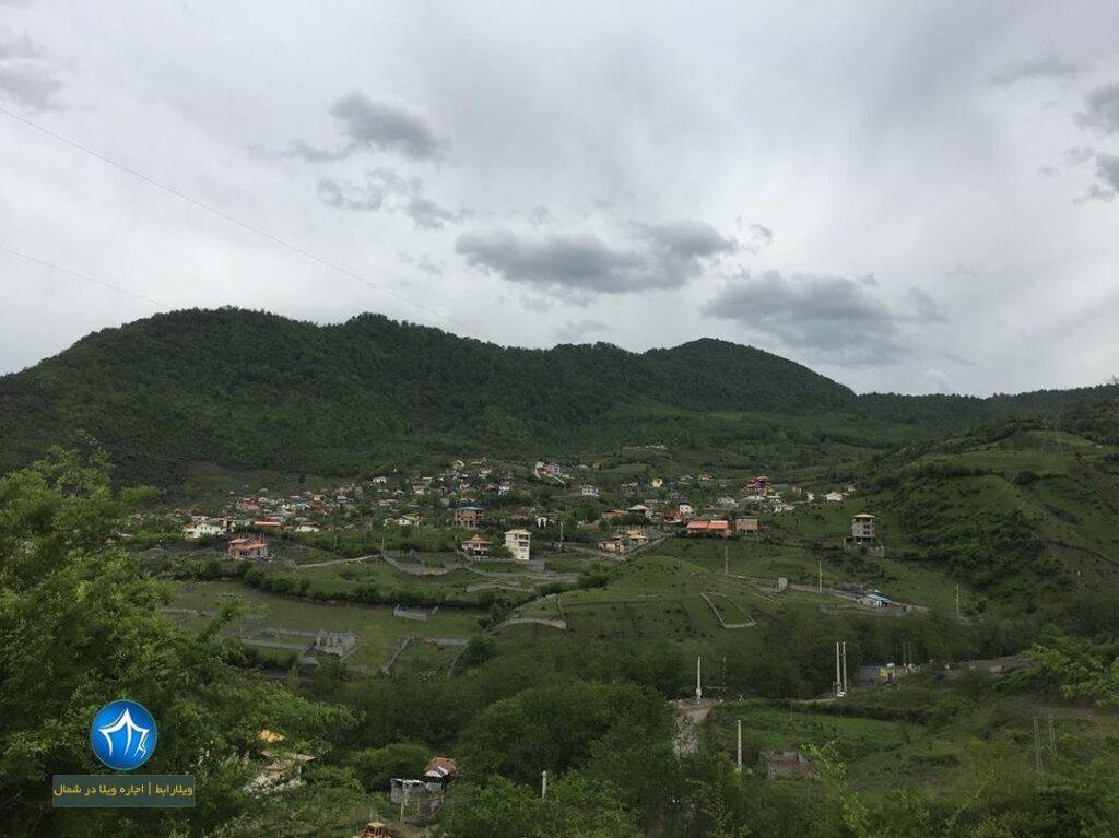 روستای لاویج کجاست روستا لاویج نور روستای لاویج چمستان آبگرم لاویج (۱)