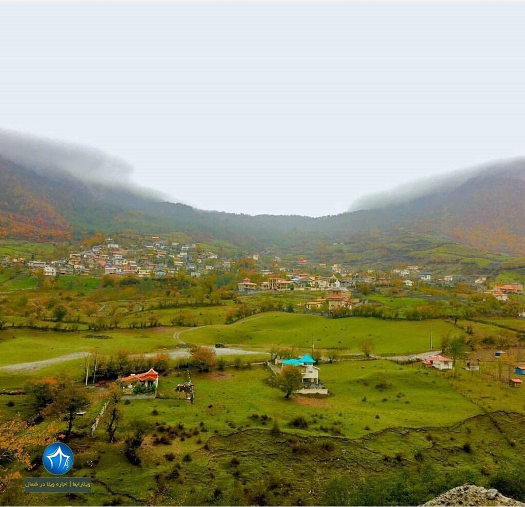 روستای لاویج کجاست روستا لاویج نور روستای لاویج چمستان آبگرم لاویج (۳)