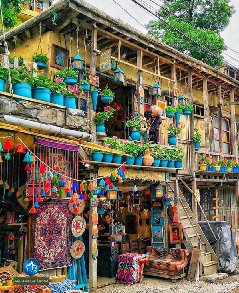 روستای ماسوله شهر ماسوله شهر خانه های پلکانی جاذبه گردشگری گیلان (۳)