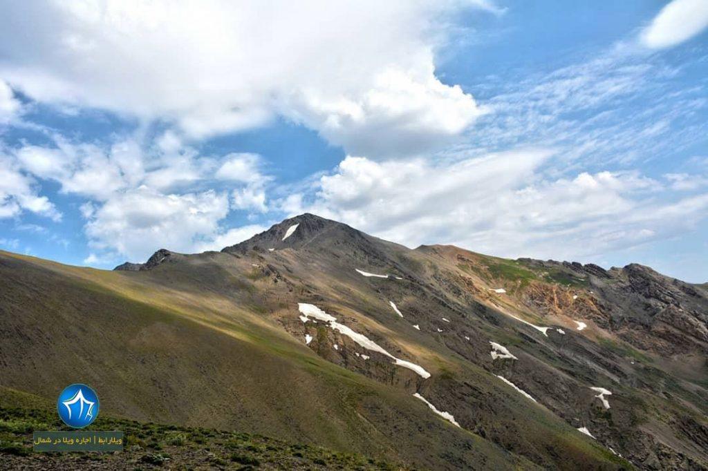 سیالان کجاست قله سیالان تور سیالان صعود به سیالان جاذبه گردشگری تنکابن