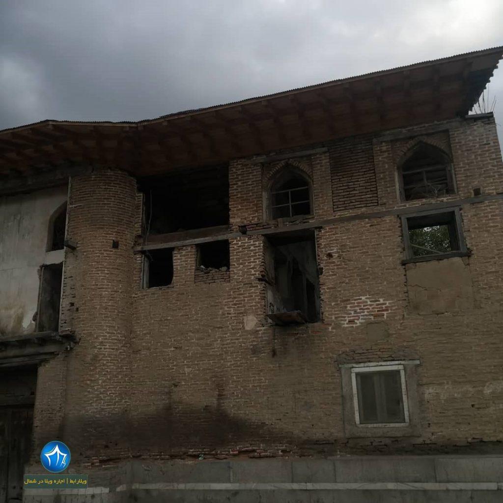 عمارت دریابیگی لنگرود خانه تاریخی دریابیگی لنگرود (۱)