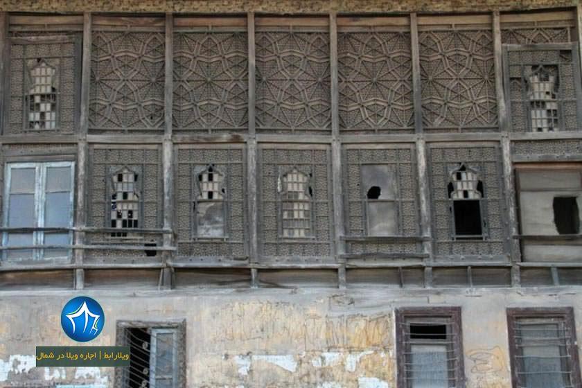 عمارت دریابیگی لنگرود خانه تاریخی دریابیگی لنگرود (۴)
