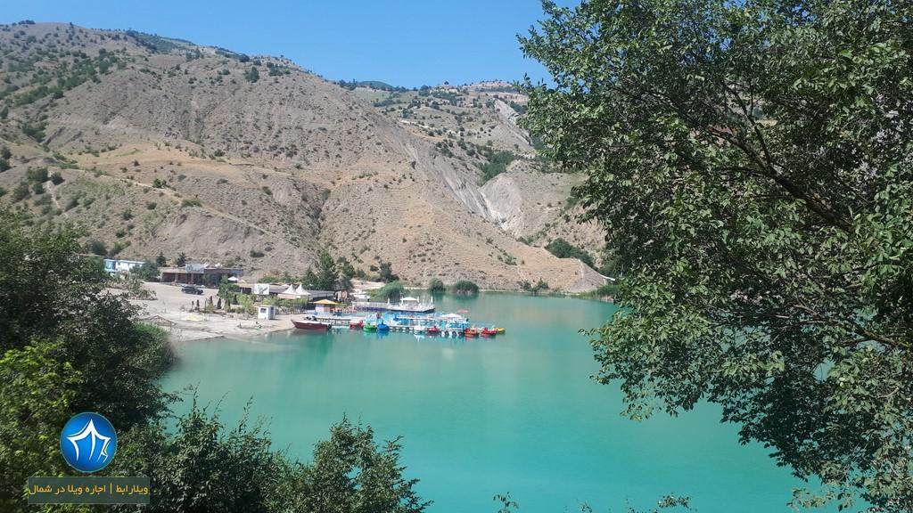 عکس دریاچه ولشت از دور