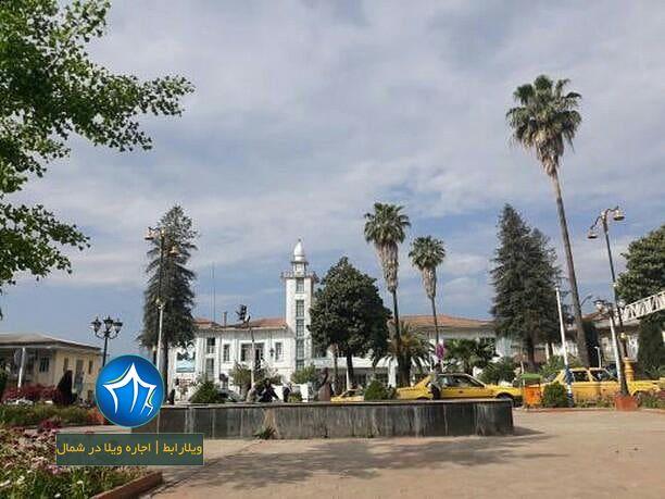 عکس رودسر (میدان شهرداری رودسر گیلان-بنای شهرداری رودسر-ساختمان شهرداری رودسر ) (۱)