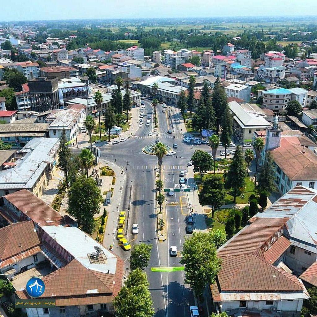 عکس رودسر (میدان شهرداری رودسر گیلان-بنای شهرداری رودسر-ساختمان شهرداری رودسر ) (۳)