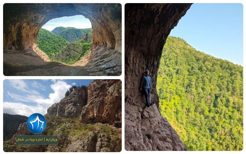 غار دربند رشی از جاذبه های گردشگری در استان گیلان