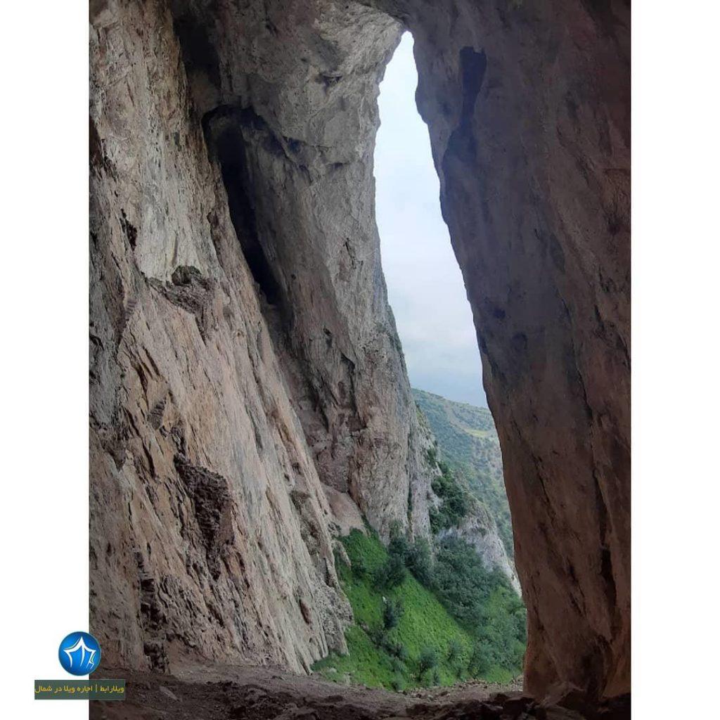 غار دژ اسپبهد خورشید اسپهبد خورشید سوادکوه غار مازندران داستان اسپهبد خورشید سوادکوه (۴)