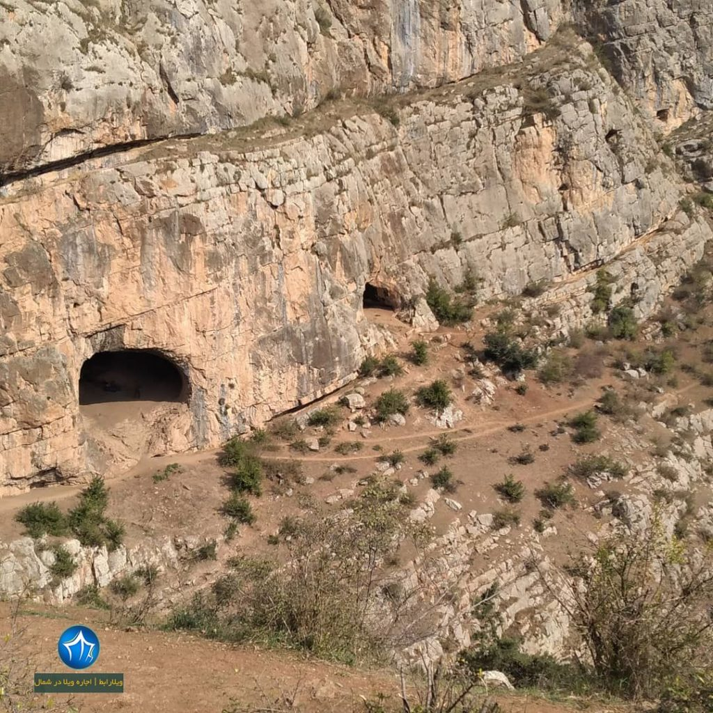 غار رشی تپه رشی روستای رشی رودبار تپه رودبار عکس غار رشی رودبار روستا تپه باستانی رشی (۳)