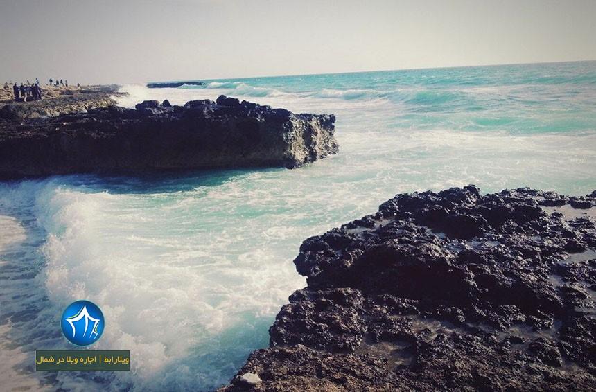 فانوس دریایی کلبه هور کیش-کلبه هور کیش-ساحل کلبه هور-کلبه هور در کیش-کلبه هور در جزیره کیش فانوس دریایی کلبه هور (۱)