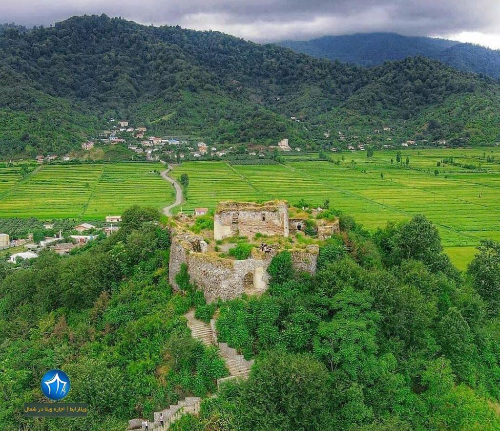 قلعهی لیسار (سلسال) تالش تالش، استان گیلان، ویلارابط، اجارهی ویلا در لیسار تالش، تورهای گردشگری یک روزه (۴)