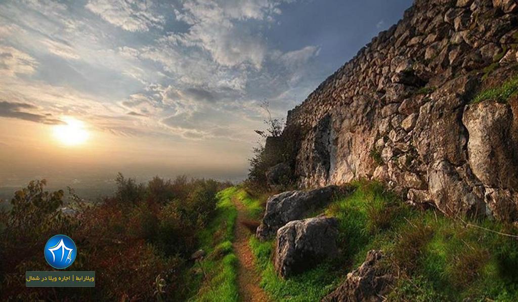 قلعه مارکوه رامسر قلعه رامسر (۳)