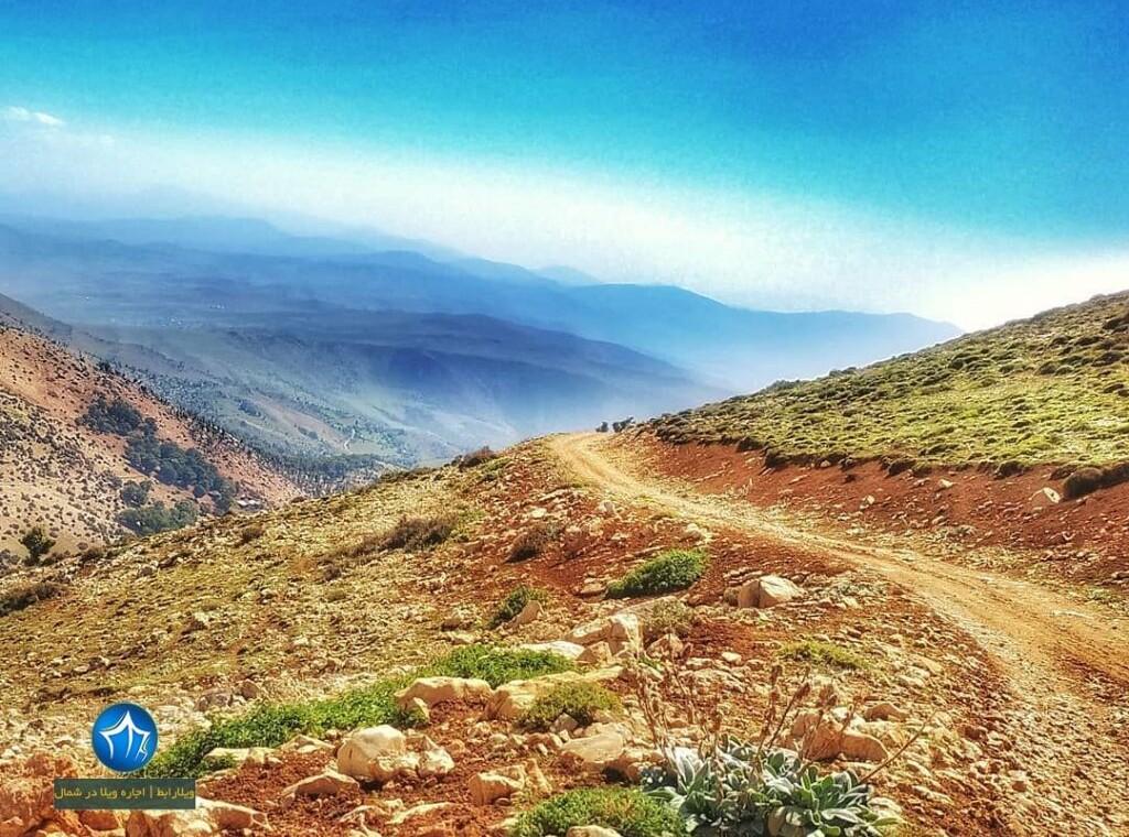 قله درفک آتشفشان درفک رودبار قله درفک اتشفشان درفک گیلان ویلارابط جاذبه گردشگری گیلان رودبار (۴)