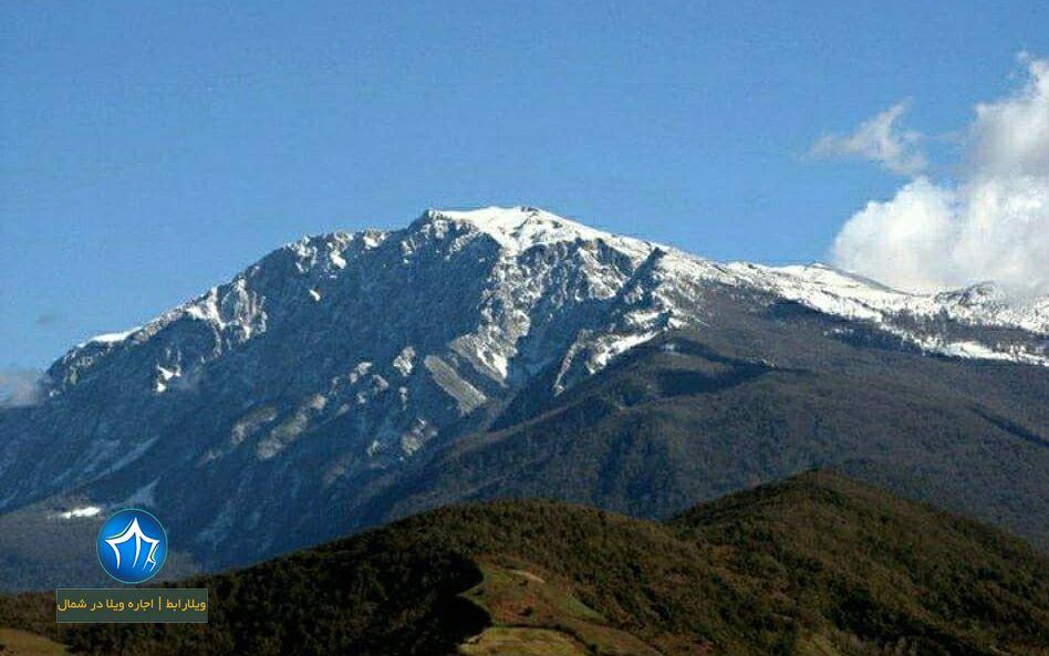 قله درفک رودبار یکی از قله های رشته کوه های البرز است (۳)