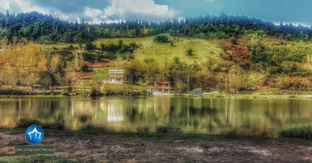 محوطه های باستانی حلیمه جان رودبار کجاست؟ محوطه های باستانی حلیمه جان رودبار دریاچه عروس تالاب عروس رودبار (۲)
