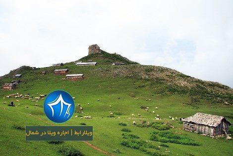 منطقه باستانی اسبه ریسه با غارها و صخره های بلند- منطقه باستانی اسب ریسه-مسیر اس سنگی اسبه ریسه ماسال- (۱)