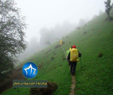 منطقه باستانی اسبه ریسه با غارها و صخره های بلند- منطقه باستانی اسب ریسه-مسیر اس سنگی اسبه ریسه ماسال- (۳)