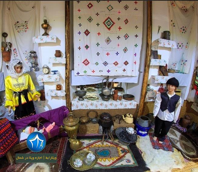 موزه مردم شناسی رامسر راهنمای بازدید از موزه مردم شناسی رامسر جاذبه گردشگری رامسر موزه رامسر (۶)