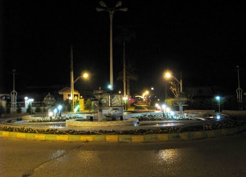 میدان اصلی شهرک لاکوده