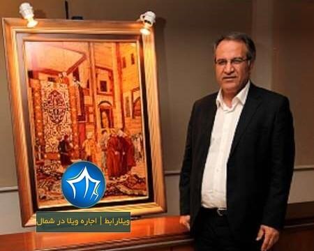 نمایشگاه دائمی استاد کیومرث صیاد-کیومرث صیاد کیش-استاد کیومرث صیاد کیش-۲